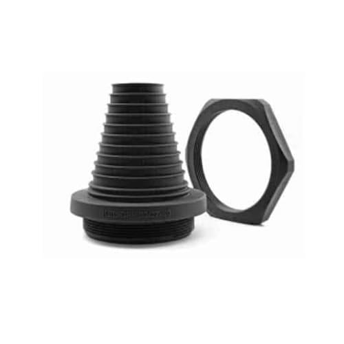 Kabelgenomföring KEL-DP-rund-svart från Icotek levereras av C-Pro