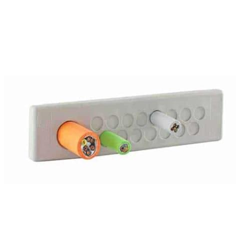 Kabelgenomföringsplatta KEL-DP-E-grå från Icotek levereras av C-Pro