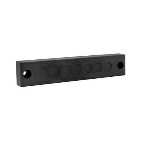 Kabelgenomföringspaltta KEL-DPZ-E-svart från icotek levereras av C-Pro
