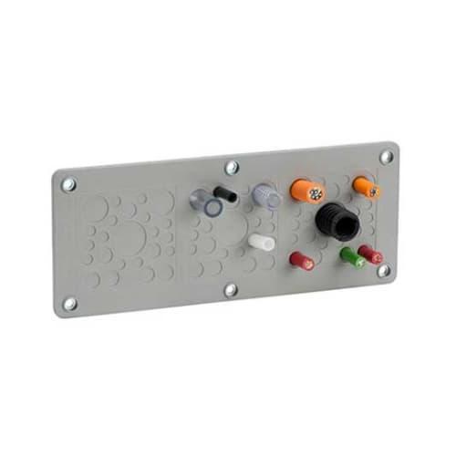 Kabelgenomföringsplatta KEL-DPZ-KL-Grå från icotek levereras av C-Pro