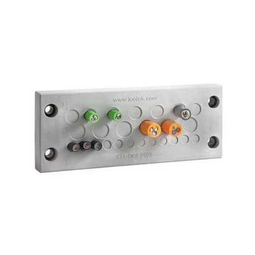 Kabelgenomföringsplatta Hög kabeltäthet, IP66/ / UL typ 12 / KEL-DPZ