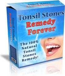 how to remove tonsil stones