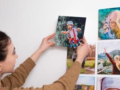 Frameless Photo Tiles