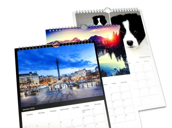Personalised A3 Wall Calendars
