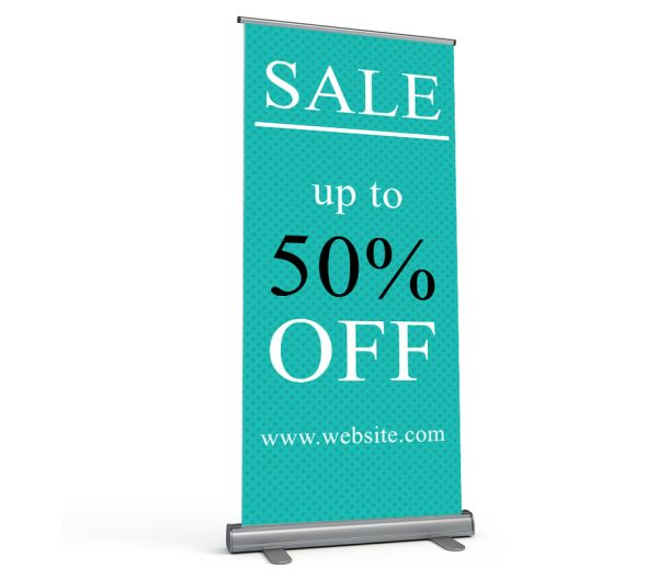 Roll Up Banner Stands & Exhibition Stands