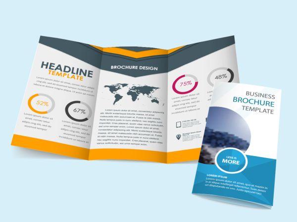 Folded leaflets/flyers
