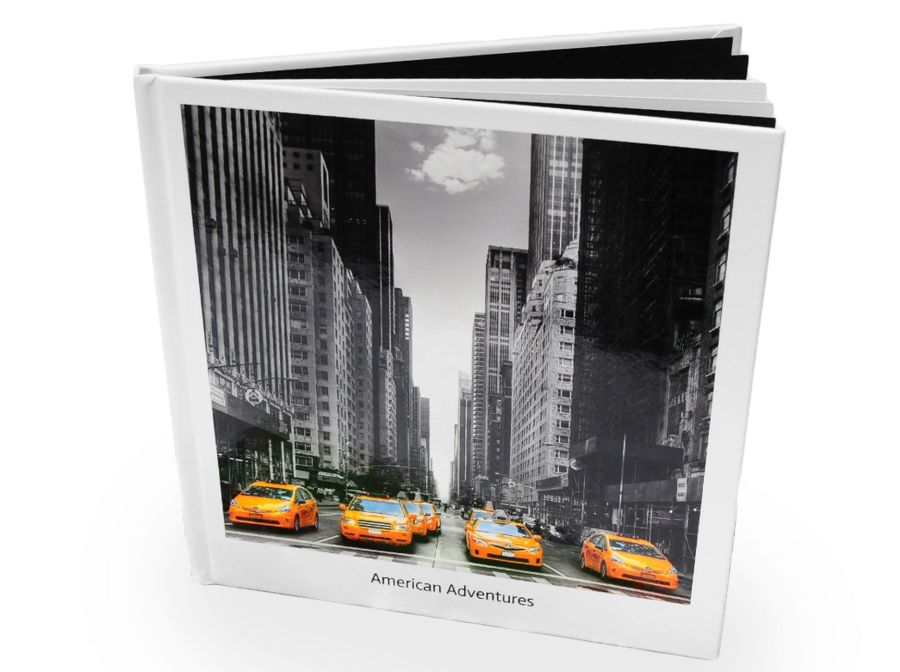 """Personalised 8"""" Square Photo Book"""