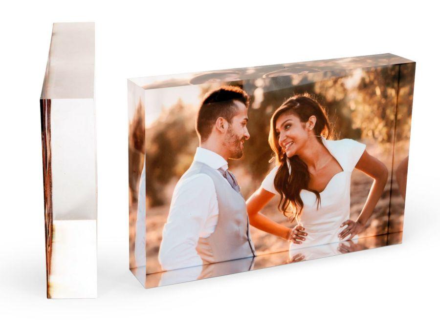Customised Acrylic Photo Block