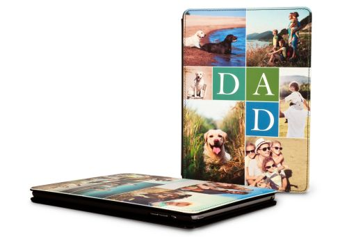 Personalised Leather iPad Air Case