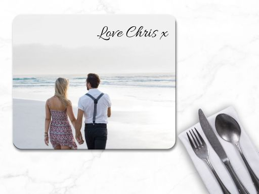 Personalised Valentines Placemats