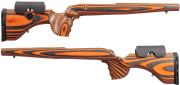 GRS Hunter Light Howa LA LH with RH Inlet, Orange.Black