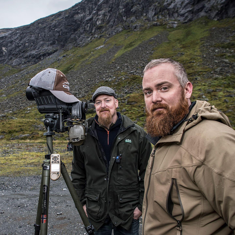 Photo of founders, Oscar Haugen and Håvard Haugen