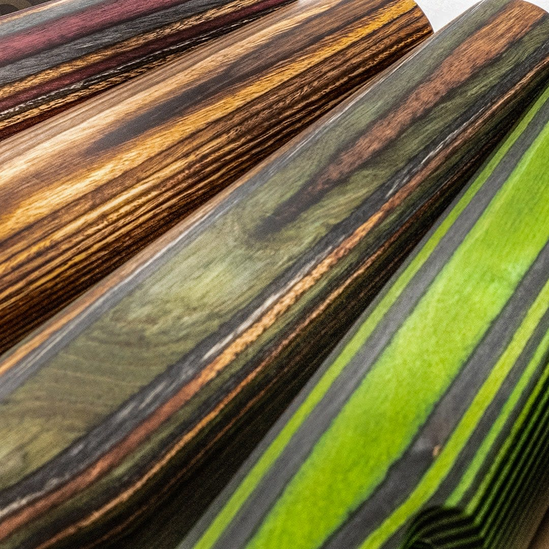 Photo of GRS Birch laminate colors