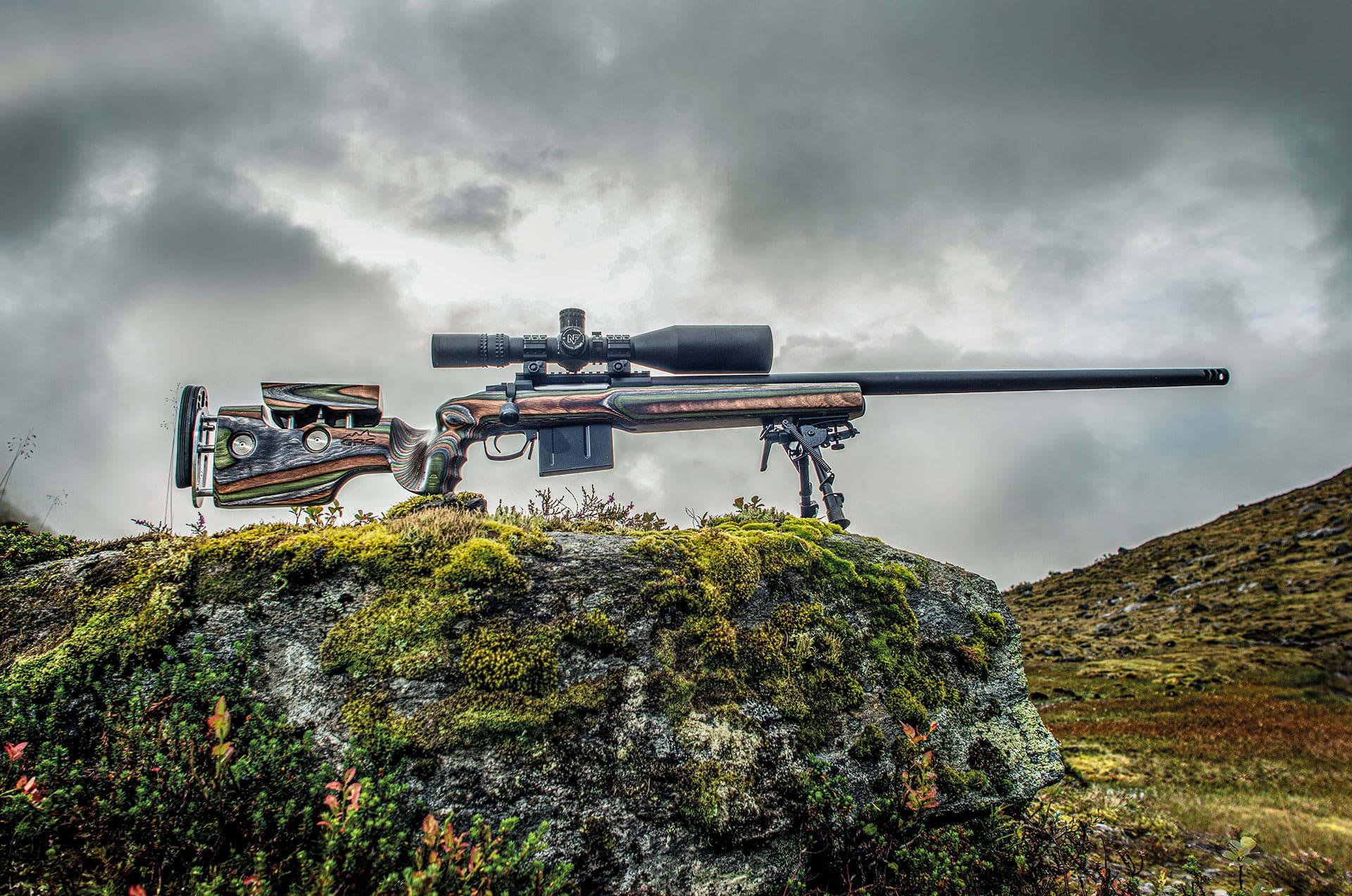 Photo of GRS Hybrid on Long range, full rifle