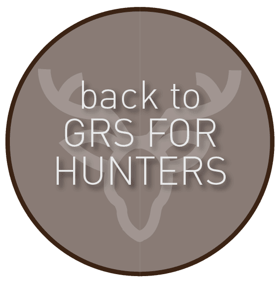 Graphic back to GRS FOR HUNTERS