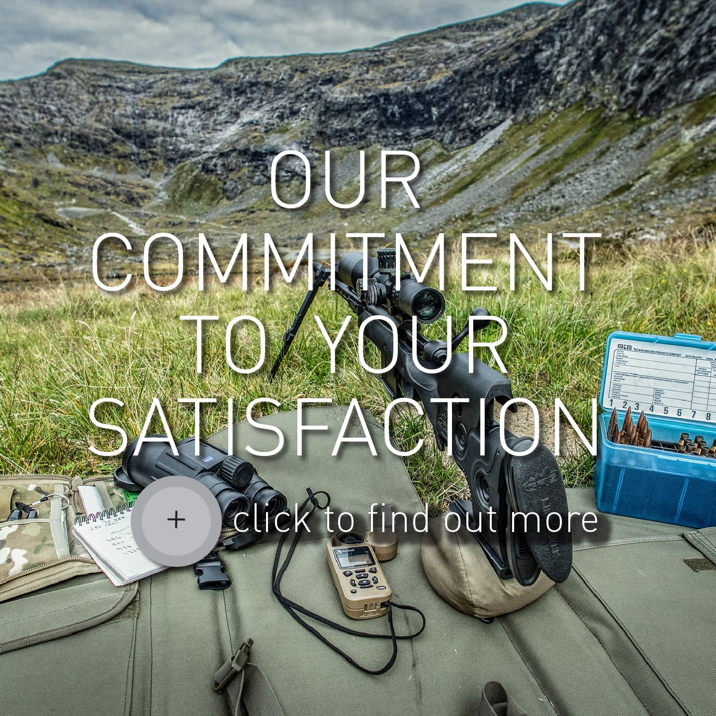 Button for Our Commitment to your satisfaction