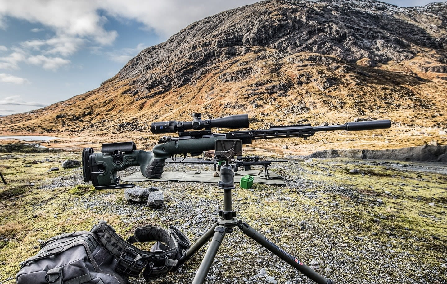 Photo of GRS Warg, complete rifle o tripod, longrange