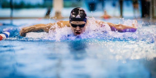 Michael Andrews Swimming
