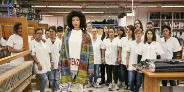 Behind the scenes of creating a sustainable fashion collection