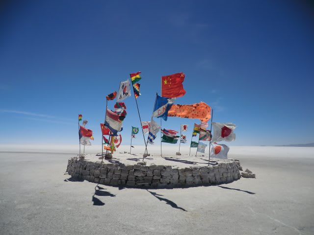 Flags of countries of the world in the ddesert, flags, nations, worldwide, international, wanderlust, GamePlan A