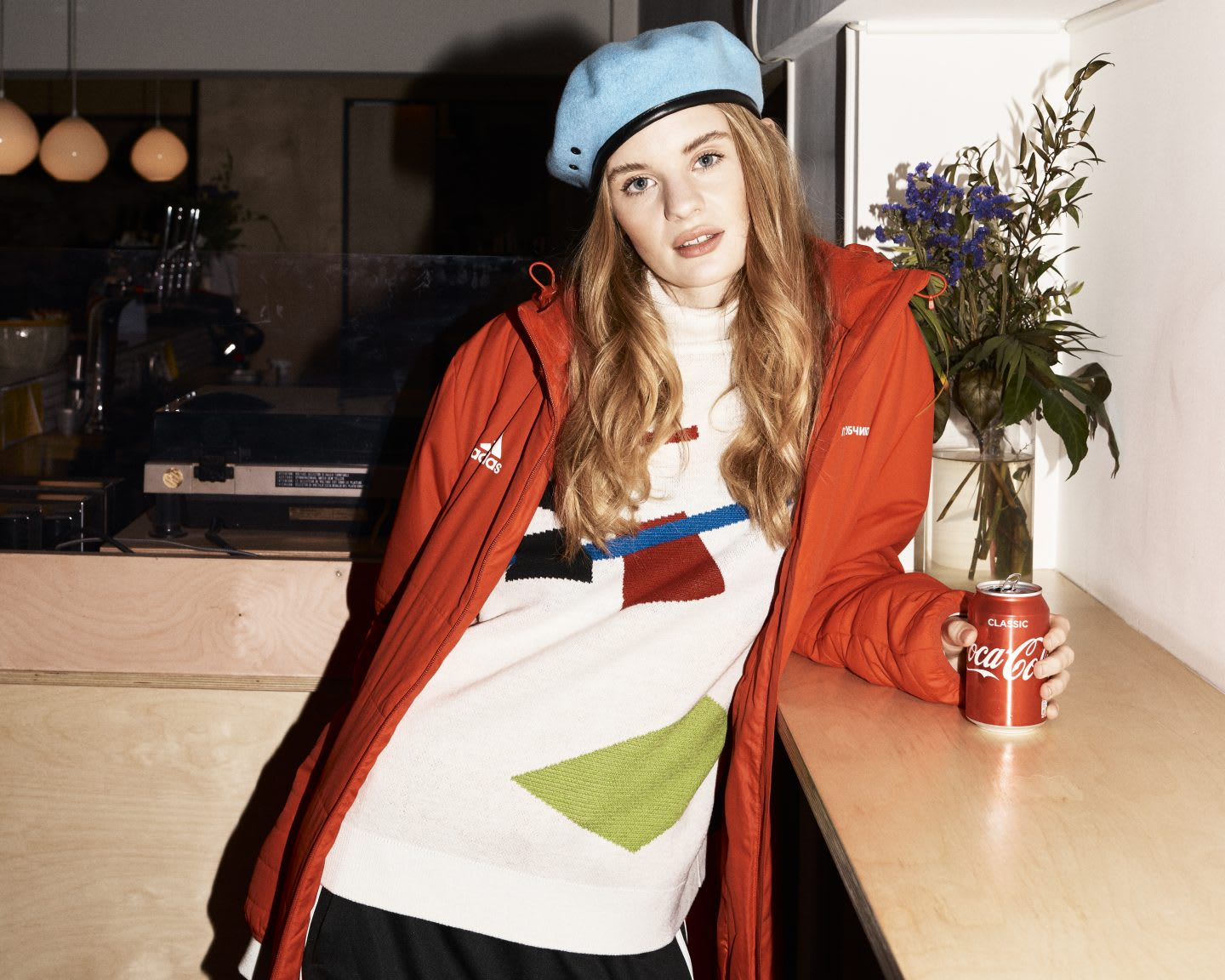 Woman wearing a football fashion look and posing in front of the camera. diversity, empowerment, female fan, football, adidas, GamePlan A, SEASON zine