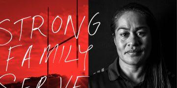 Black Ferns captain head shot. leadership, strong, family, serve, GamePlan A