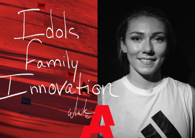 Success secrets Mikaela Shiffrin US ski slalom champion in conversation with Sina Port at adidas Gameplan A Three Words With
