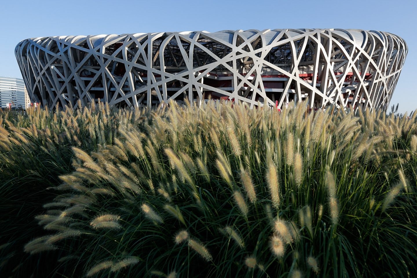 Beijing Olympic stadium - the bird's nest