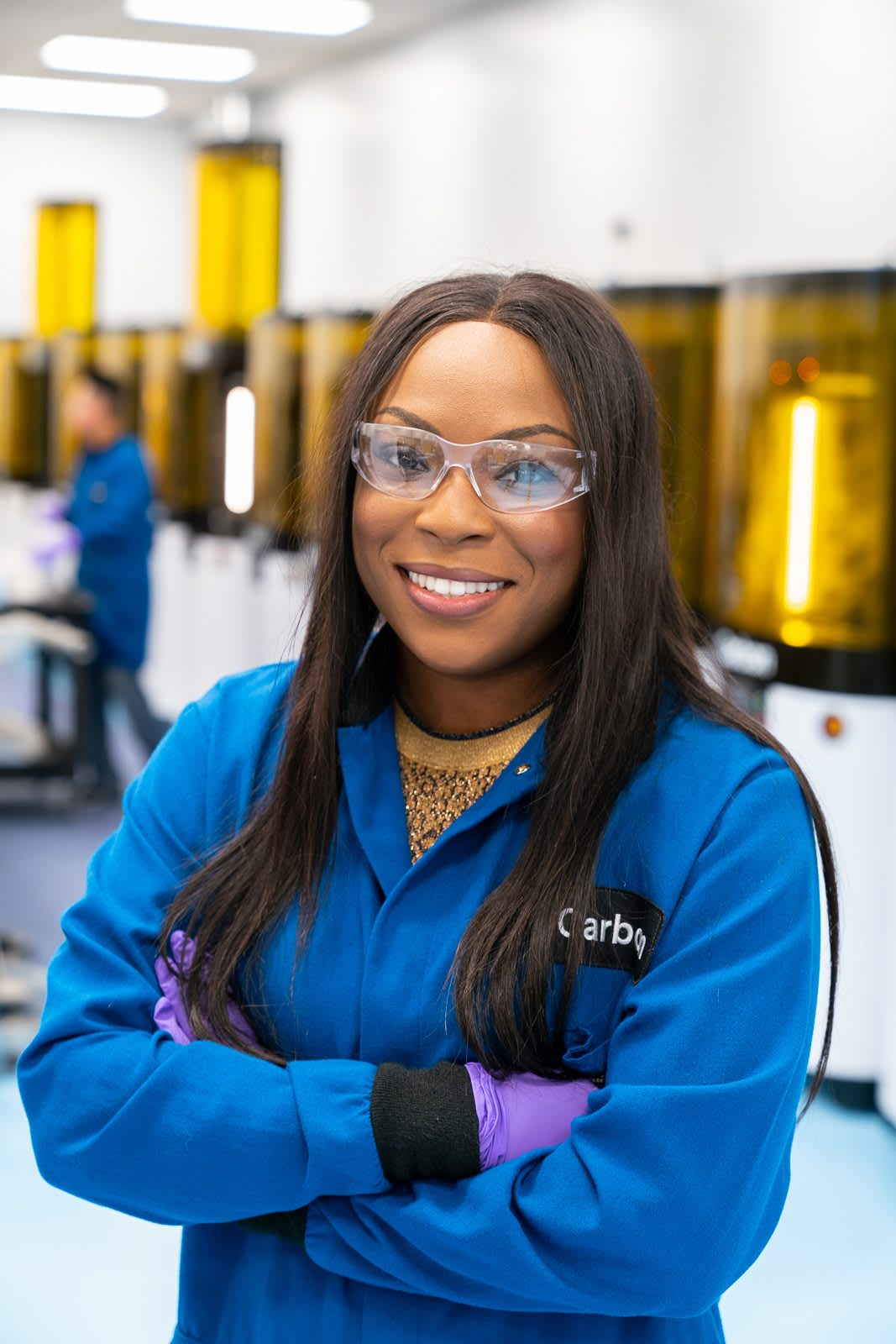 Portrait of Dara Treseder in a branded Carbon jacket. how leaders promote diversity, diversity, leadership, communication, GamePlanA