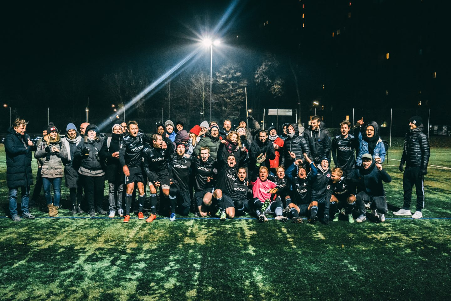 JvM soccer team photo. How to build a creative workplace culture, JvM, workplace, collaboration, creativity, team-building, GamePlan A