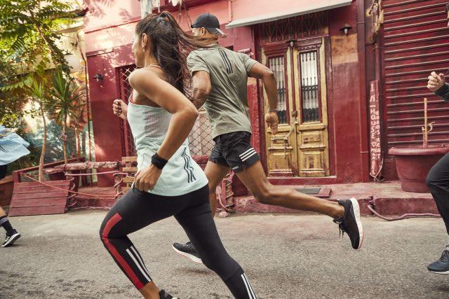 adidas runners training for a marathon, Marathon training, GamePlanA