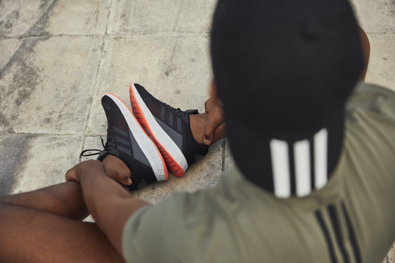 Runner recovering from his marathon training. GamePlanA, runners, running, marathon, athlete
