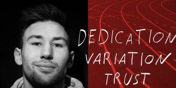 3 Words With Niklas Kaul. GamePlanA, Dedication, Variation, Trust.