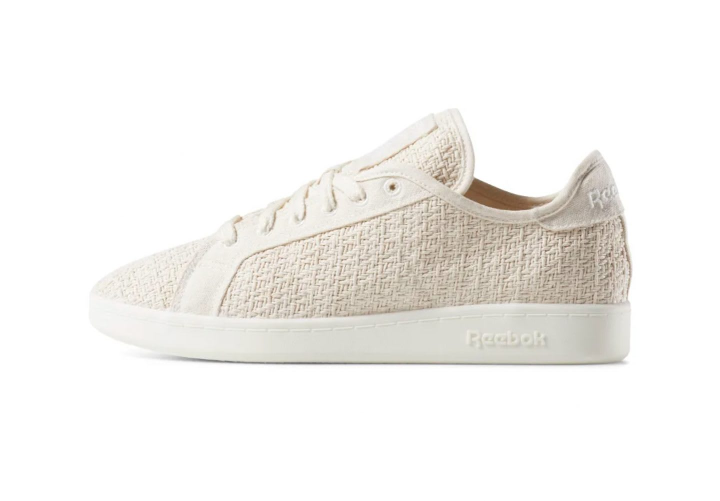 Reebok Cotton and Corn sneakers in white, sustainable, plant-based, Newport Classic, Reebok