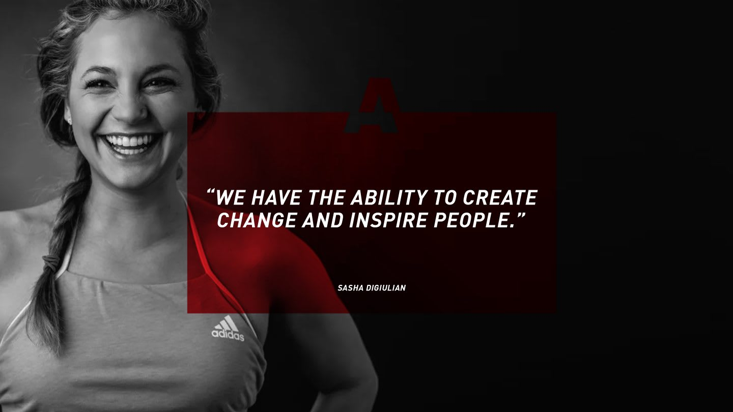 Quote from female climber Sasha DiGiulian on GamePlan A, motivation, success, happiness