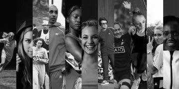 Portraits of adidas female athletes, collage, inspiration, motivation, success