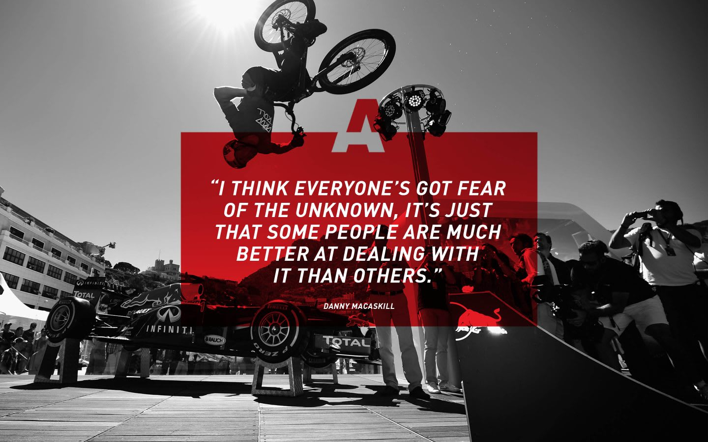 adidas mountain biker Danny McAskill quote, adidas, athlete, inspiration, motivation, GamePlan A