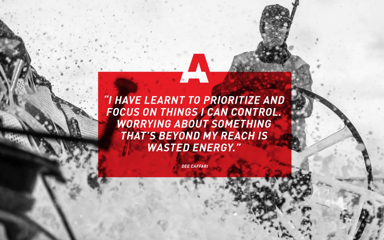 Sailer Dee Cafari quote, adidas, athlete, inspiration, motivation, GamePlan A