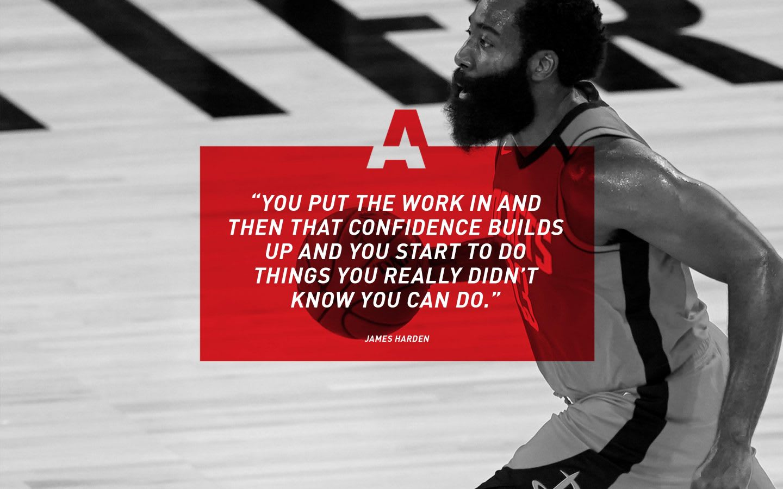 adidas basketballer James Harden quote, adidas, athlete, inspiration, motivation, GamePlan A