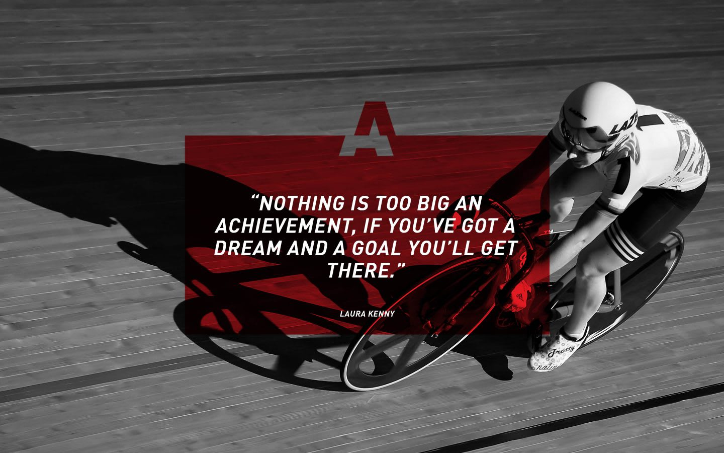 adidas track cyclist Laura Kenny quote, inspiration, motivation, GamePlan A, adidas, athlete