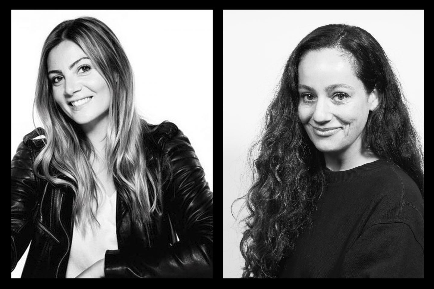Reebok employees from the fashion collaborations team, Erica Tappin, Pamela Senese-Cooke, teamwork, team, collaboration