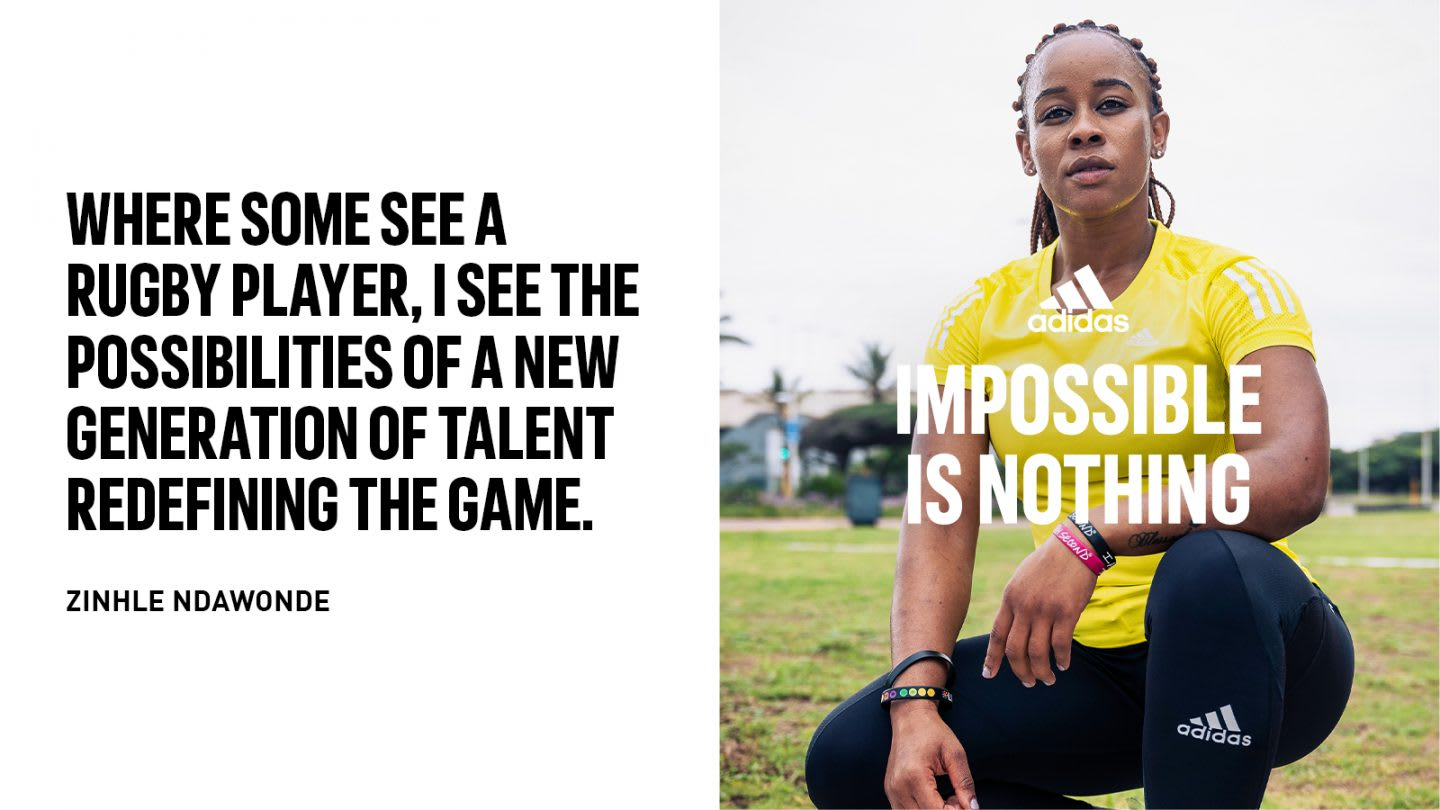 adidas athletes and partners in Impossible Is Nothing campaign, sports, culture, partnerships