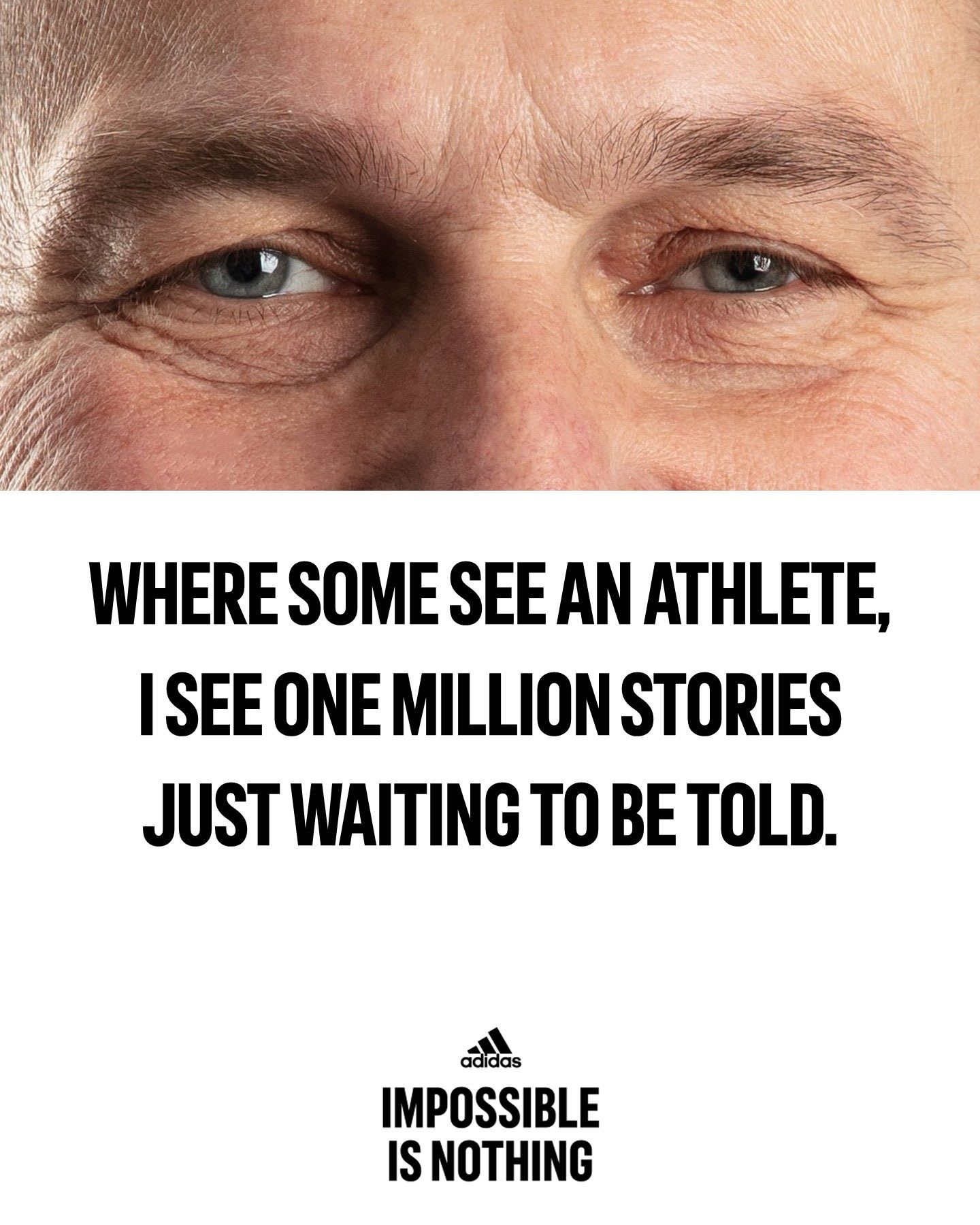 Impossible Is Nothing Eyes Adidas Employees