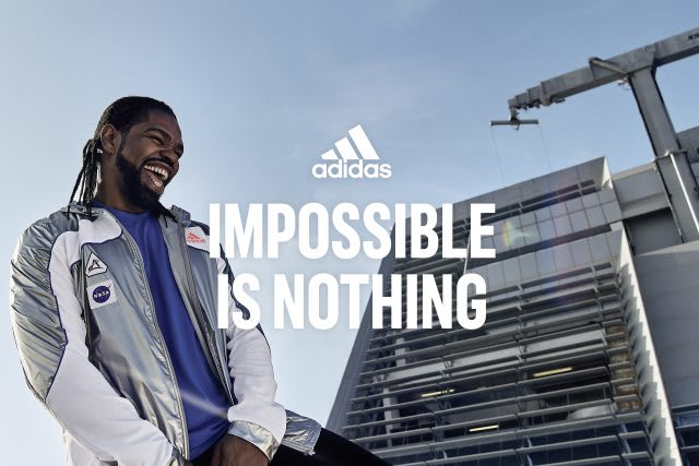 adidas Impossible Is Nothing brand campaign, attitude, adidas, sports, man, athlete, partner