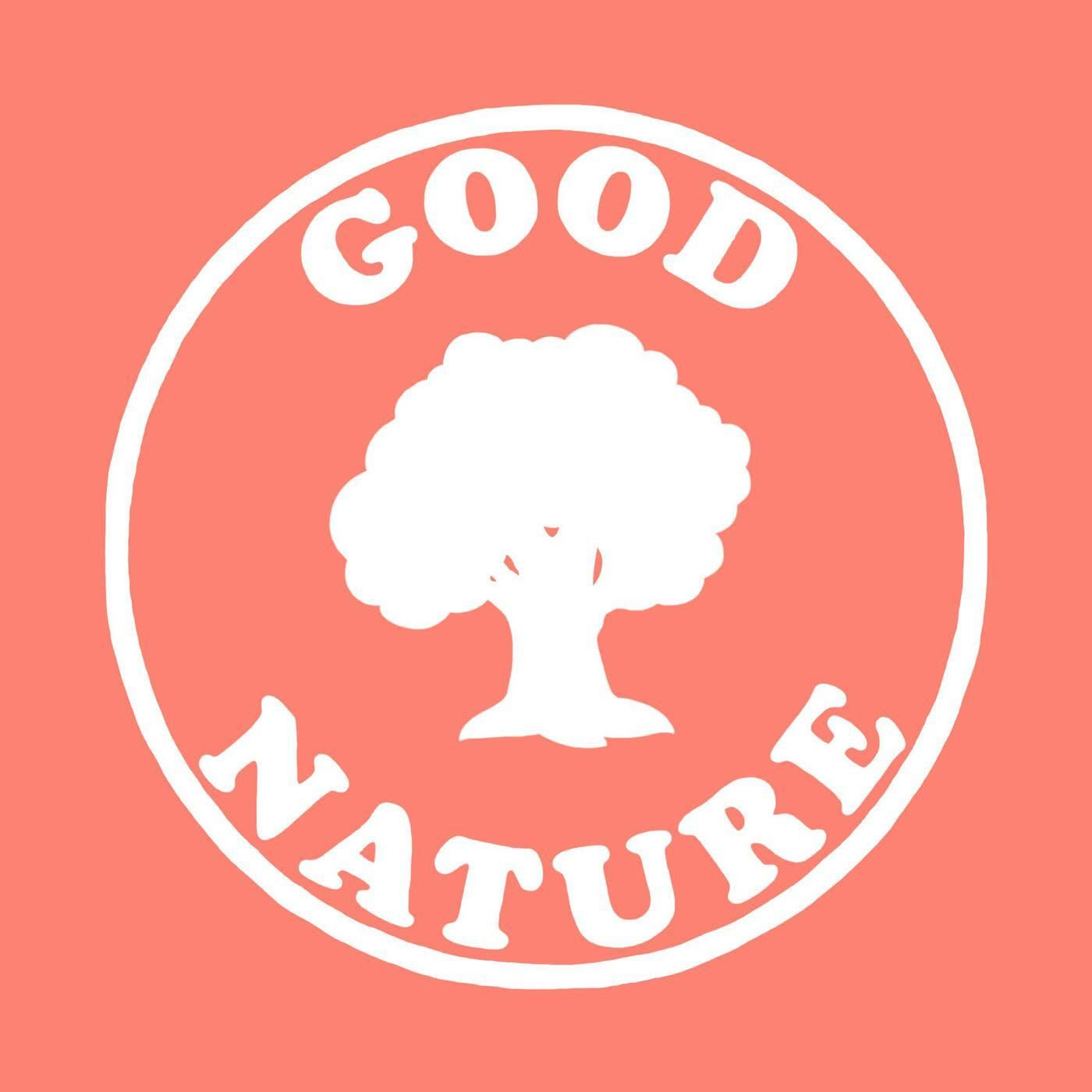 GOOD NATURE podcast poster hosted by Tony Hartman, podcast, listening, audio, learning, guests, experience