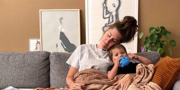 adidas employee Maaike de Jeu at home with children during pandemic, work, home, balance, family, life