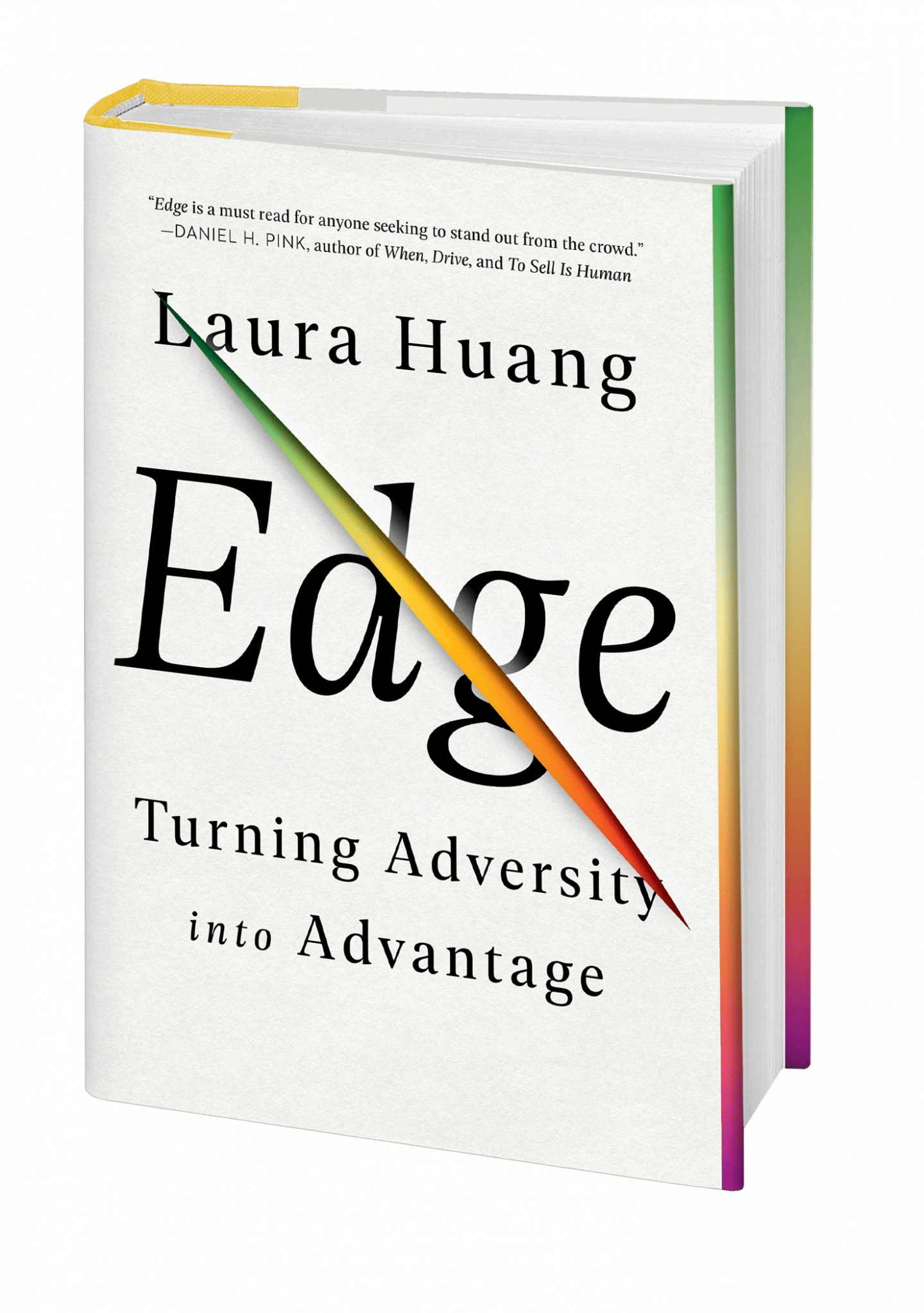 Edge from Laura Huang about turning adversity into advantage. Champion's Mindset, summer reading list, improving skills,