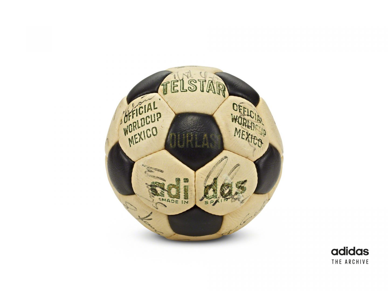 Old adidas Telstar football, World Cup, Mexico, sports, football, soccer, adidas, history, sports