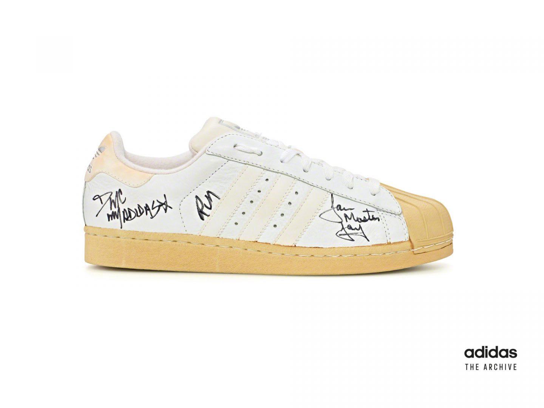 White adidas Superstar sneaker, archive, adidas, lifestyle, Originals