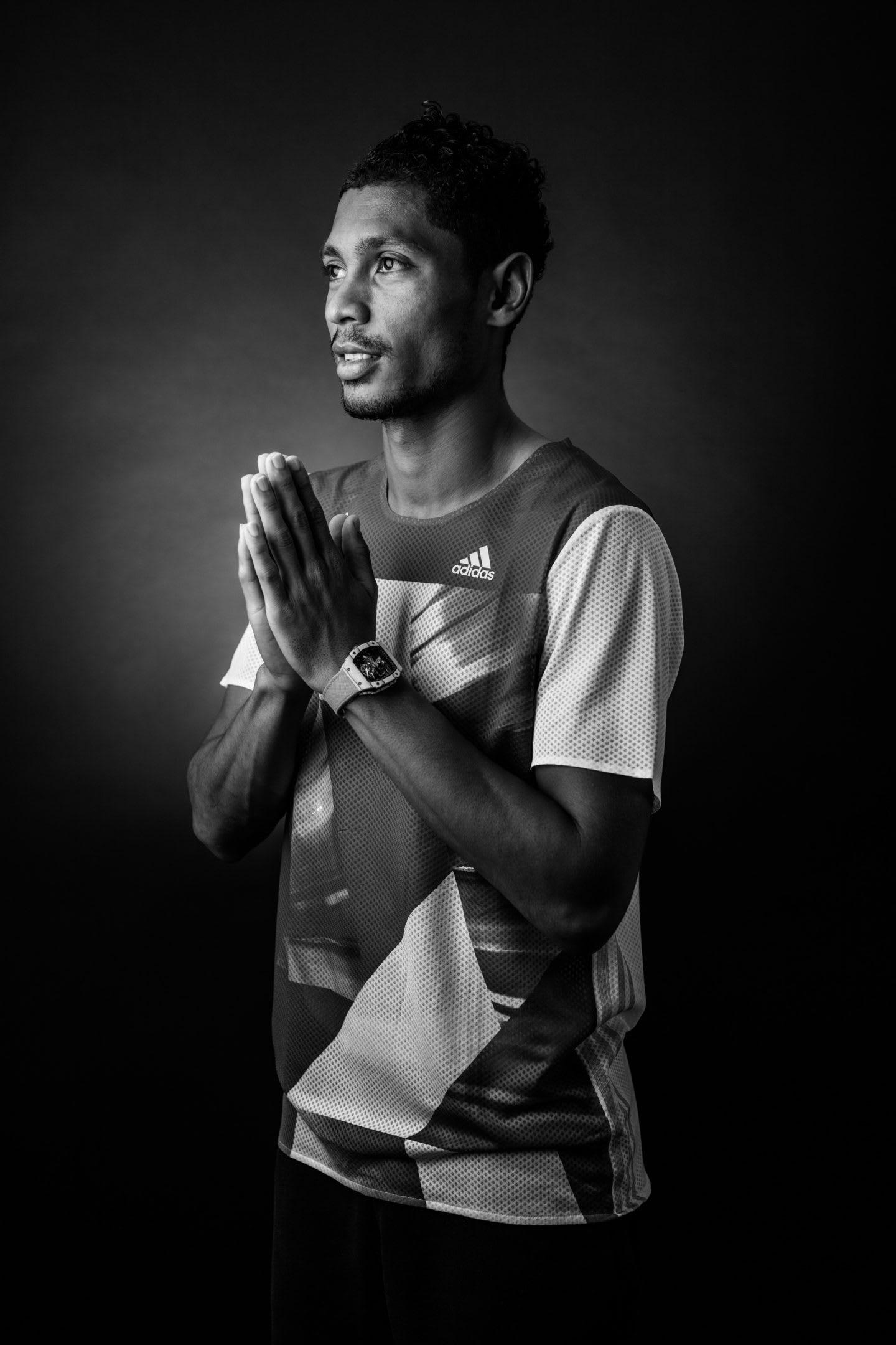 Wayde van Niekerk, 400m Olympic champion 2016, world record holder